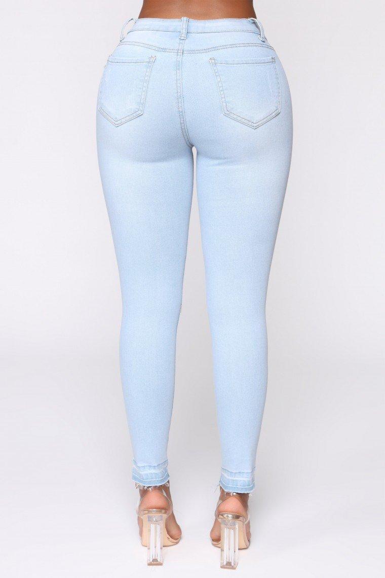 Corky Denim Jeans - Light Blue Wash